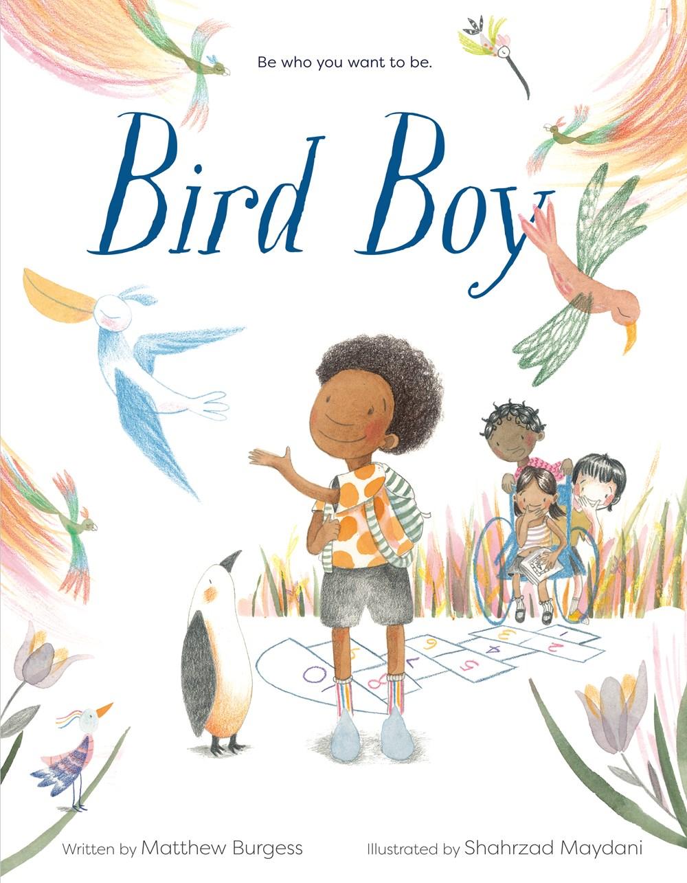 Bird Boy by Matthew Burgess book cover